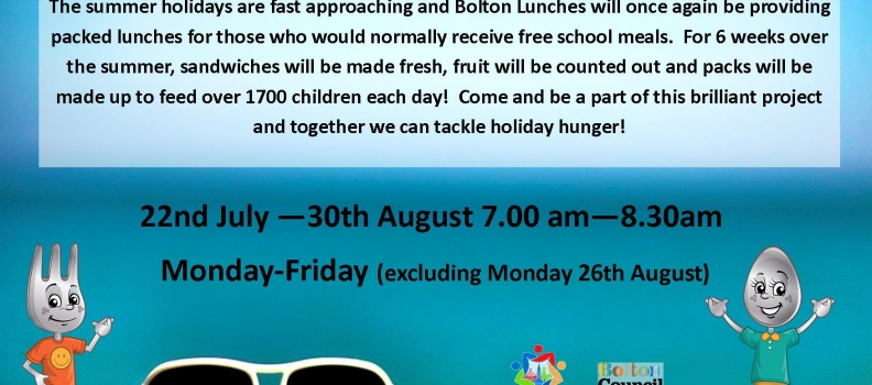 Bolton Lunches 2019 is on its way!